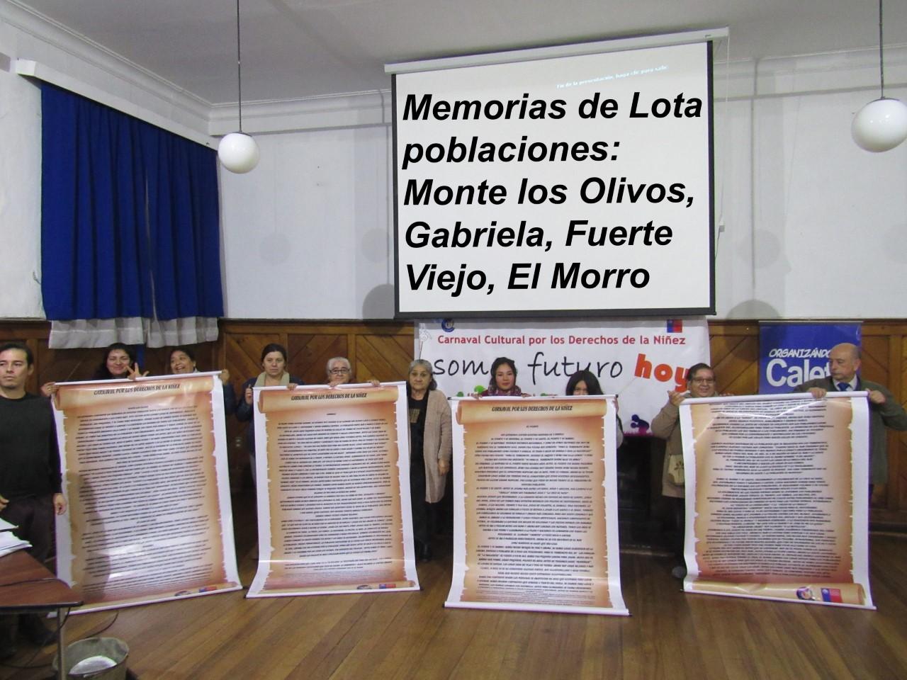 MEMORIAS DE LOTA 2019