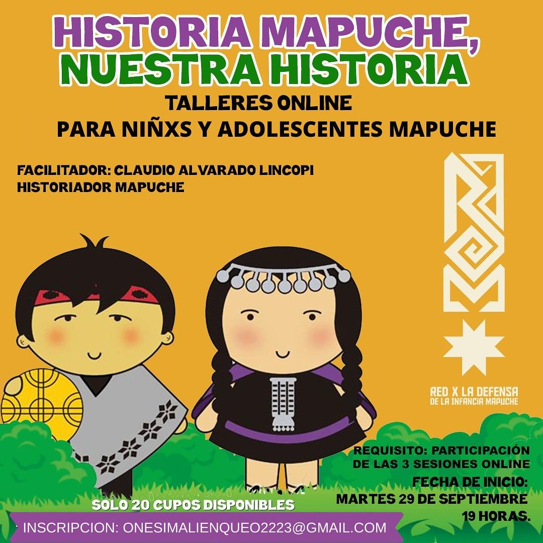 HISTORIA MAPUCHE, NUESTRA HISTORIA