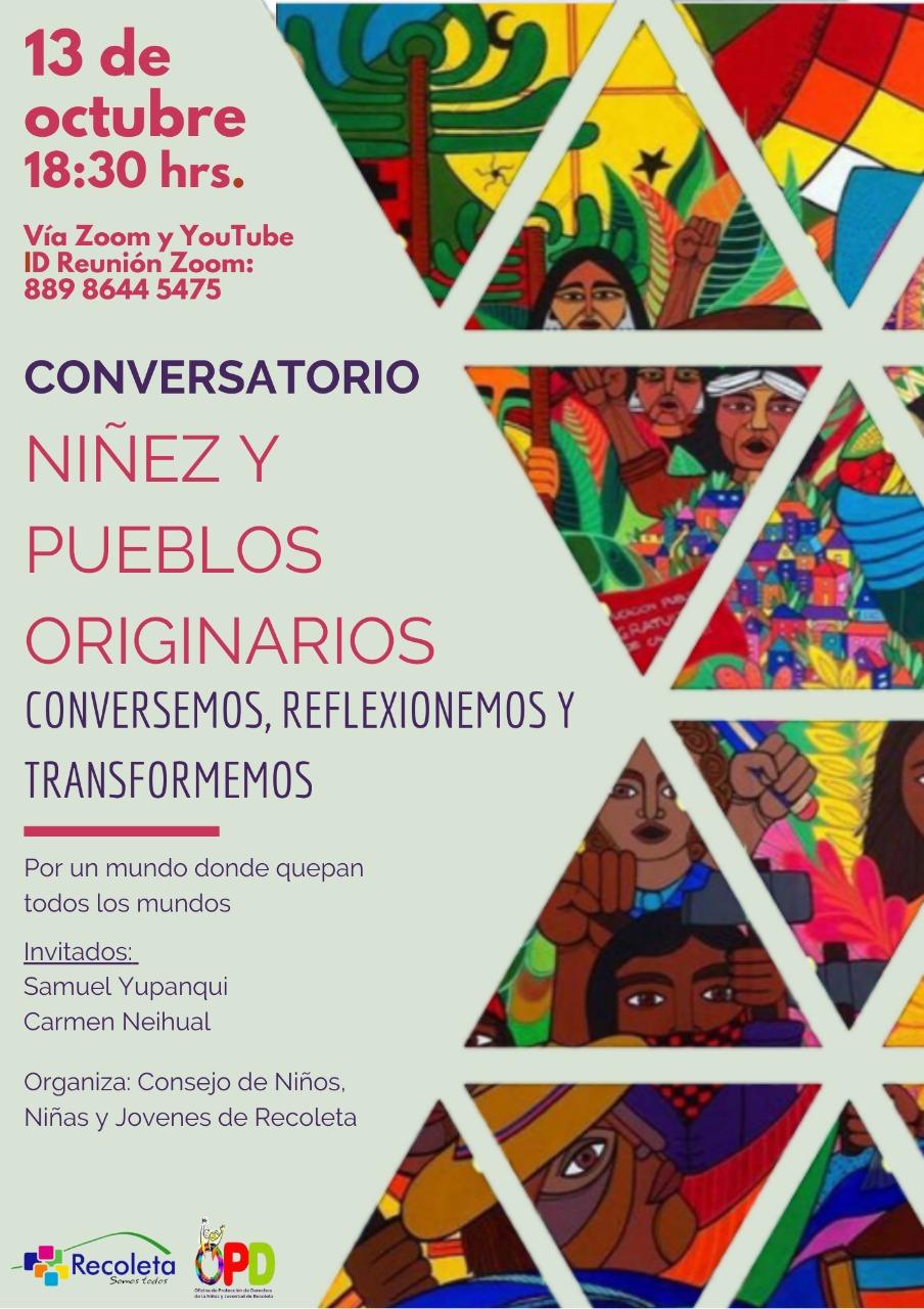 CONVERSATORIO NIÑEZ Y PUEBLOS ORIGINARIOS